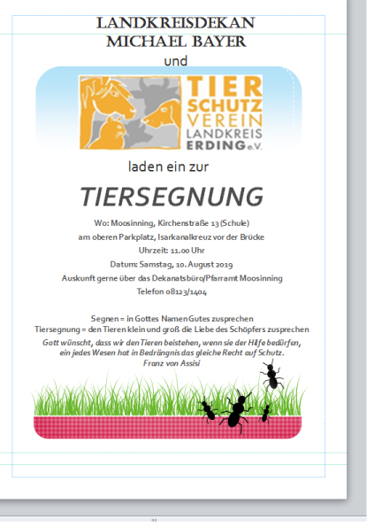 Tiersegnung2019